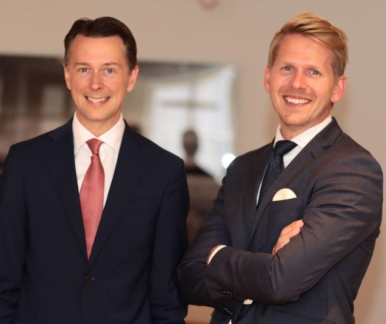 Jonathan Schönbäck og Hans Christian Bratterud