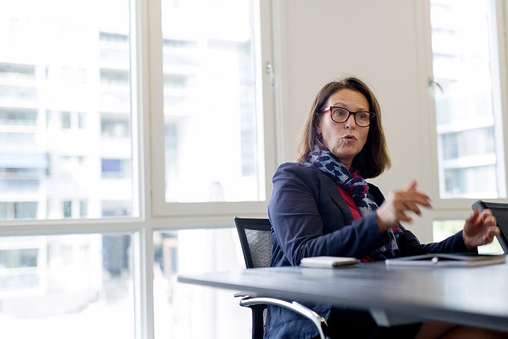 «Både forvalterne våre og jeg har investert i ODIN-fond. Hvorfor skal man investere hos oss hvis ikke vi gjør det selv?» Kari Marta Gjerde, ODIN Forvaltning